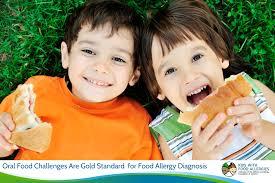 oral food challenges for food allergy test