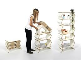 space saver folding bookcase