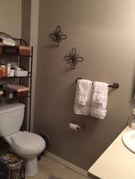 bathroom behr studio taupe home pinterest coral accents
