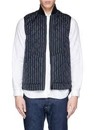 biker jacket vest sacai detachable vest houndstooth tweed biker jacket in gray for