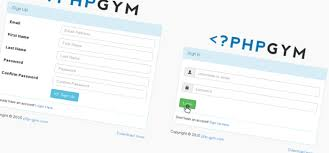 tutorial php web php login and registration using mysql php gym