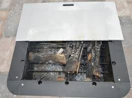 Square Fire Pit Insert by Firebuggz Outdoor Fun Products