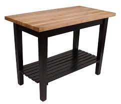Kitchen Work Tables Islands by John Boos Classic Country Work Table Island Table