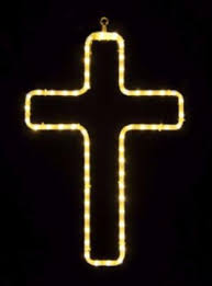 led crosses for outdoors lit cross displays holidaylights com
