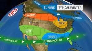 Michigan Weather Map The Impact Of El Niño On Seasonal Snowfall The Weather Channel