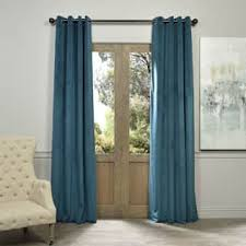 Blue Velvet Curtains Blue Velvet Curtains U0026 Drapes For Less Overstock Com