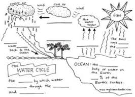 Water Cycle Worksheet Pdf 17 Best Water Distribution Images On Science Ideas