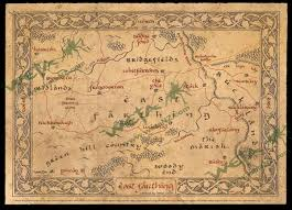The Hobbit Map Tg Traditional Games