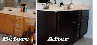 Paint For Bathtubs Bathroom My Painted Vanity Before And After Two Delighted Best
