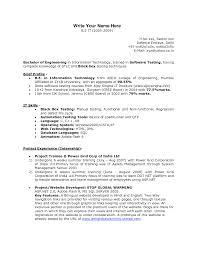Resume Formats For Fresher Engineer Sample Cover Letter For Freshers Resume Pdf India Docoments Ojazlink