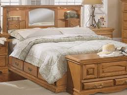 bedroom furnitures bedroom solid oak hardwood storage bed