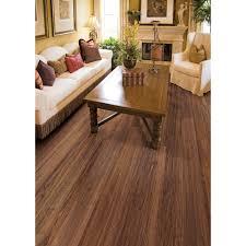 Laminate Flooring Home Depot Hampton Bay Hand Scraped Walnut Plateau 8 Mm X 5 9 16 In Wide X