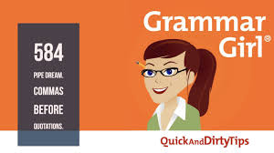 quote marks before comma grammar 584 pipe dream commas before quotations youtube