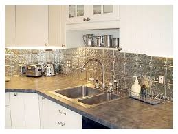 tin tiles backsplash cabinet backsplash