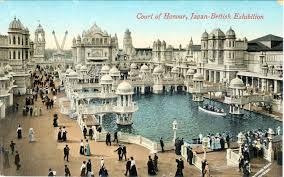 court of honour japan british exhibition london 1910 old tokyo