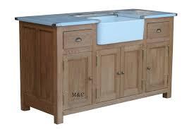 meuble sous evier cuisine meuble sous evier de cuisine en chêne