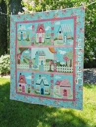 home in spring bom shabby fabrics complete pattern set