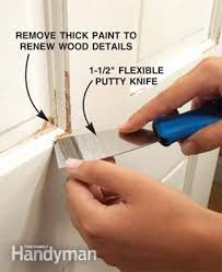 How Much To Paint Interior Trim How To Prepare Wood Trim For A Smooth Wood Paint Job Family Handyman