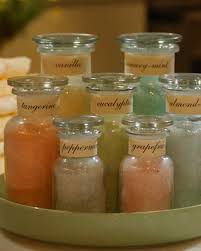 homemade bath salts video martha stewart
