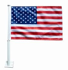 Display Of The American Flag Rules U S Car Window Flag 11 In X 14 In Polyester Made In The Usa