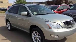 used lexus rx 350 hybrid pre owned gold 2009 lexus rx 350 4wd walk around review sylvan