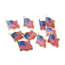 How Many Stripes Are On The Us Flag Patriotic Pinbacks Ebay