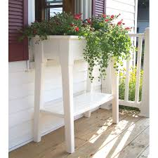 Garden Bench With Trellis by Plant Stand Deco Metalant Stand Table Nursery Tabledeco