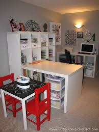 craft sewing space ikea expedit desk i wonder if i can convince