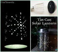 solar lights for craft projects diy solar inspired solar light lighting ideas diy recycled tin can
