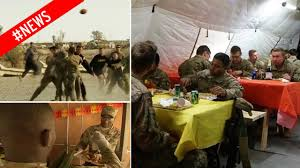thanksgiving army us troops in iraq celebrate thanksgiving with turkey feast and
