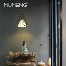Wohnzimmer Bar Restaurant Mumeng Retro Eisen Pendelleuchte Industrie Loft Wohnzimmer