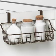 over cabinet door towel bar over cabinet door basket with towel bar in cabinet door organizers
