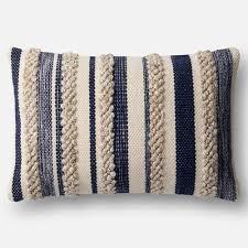 loloi magnolia home pillow navy ivory pillows pinterest