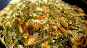 cuisiner haricots beurre omelette aux haricots verts lobya chigirtmasi azerbaïdjan