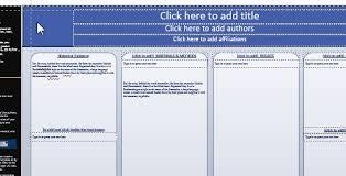 research poster template quick tutorials posterpresentations com