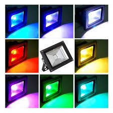 50 watt led flood light 50 watt rgb colour changing led flood light ledbrite lighting a