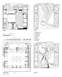 cut and print emerson college los angeles by morphosis floor plans