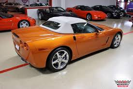 atomic orange corvette convertible for sale 2007 chevrolet corvette convertible stock m5616 for sale near