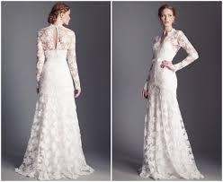 sleeve lace wedding dress 30 gorgeous lace sleeve wedding dresses
