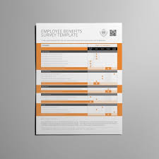 employee benefits survey form us letter template