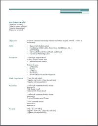 scholarship resume templates gallery of scholarship resume template
