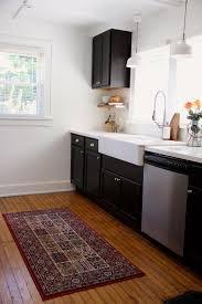 modern kitchen rug kitchen amazing kitchen area rug ideas with black white triangle