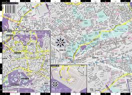 Queens Neighborhood Map Streetwise Queens Map Laminated City Street Map Of Queens New