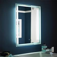 Led Lighted Mirrors Bathrooms Mirror Design Ideas Wall Mounted Illuminated Mirrors Bathroom
