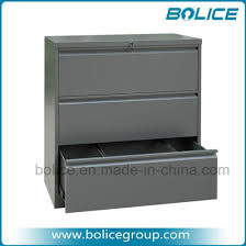 3 drawer horizontal file cabinet china 3 drawers knocked down type metal office lateral file cabinets