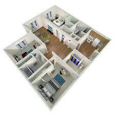 floorplans sebastian villages nc a u0026t student housing