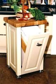 built in trash can cabinet under sink garbage can cabinet trash kitchen cans built in for door