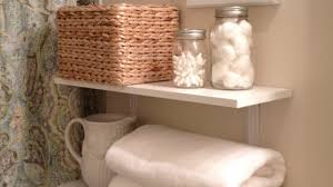 Bathroom Shelving Ideas For Towels Creative Bathroom Storage Ideas Black Shelves Installed Wall