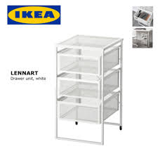 Ikea Lerberg Shelf Ikea Lennart Office Drawer Unit White 30x34x56cm Lazada Malaysia