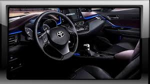 toyota chr interior desain interior toyota chr 2018 driver and feature youtube
